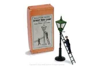 John Hill & Co Set738/6/760 Street Gas Lamp Set