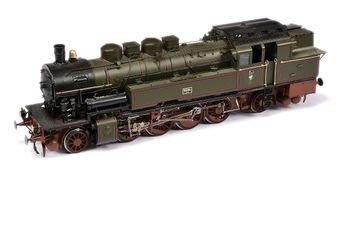 Wunder O Gauge 2-8-2 Tank Loco KPEV green Class T14 No.9094.