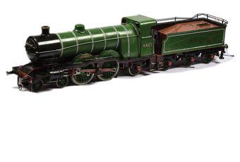 """3 1/2"""" Gauge 4-4-2 Loco and Tender LNER green"""