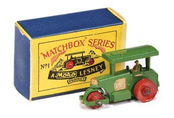 Matchbox Regular Wheels 1a Aveling Barford Diesel Road Roller