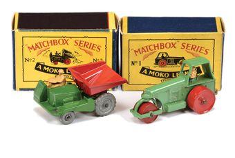 Matchbox Regular Wheels 1b Aveling Barford Diesel Road Roller