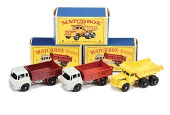 Matchbox Regular Wheels 2 x 3b Bedford TK Tipper Truck