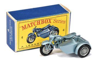 Matchbox Regular Wheels 4c Triumph T110 Motorcycle