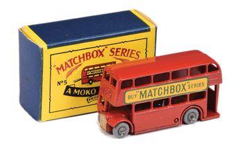 Matchbox Regular Wheels 5b London Bus -