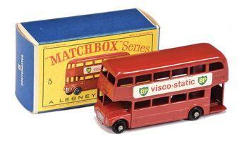 Matchbox Regular Wheels 5c London Routemaster Bus