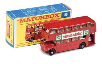 Matchbox Regular Wheels 5d London Routemaster Bus