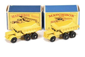 Matchbox Regular Wheels 2 x 6c Euclid Dump Truck