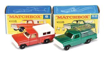 Matchbox Regular Wheels 6d Ford Pick-up Truck