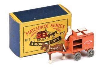 Matchbox Regular Wheels 7a Horsedrawn Milk Float