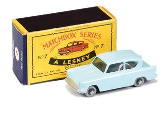 Matchbox Regular Wheels 7b Ford Anglia - Stannard Code 4