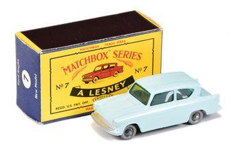 Matchbox Regular Wheels 7b Ford Anglia - Stannard Code 7