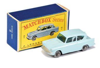 Matchbox Regular Wheels 7b Ford Anglia - Stannard Code 11