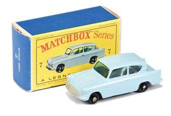 Matchbox Regular Wheels 7b Ford Anglia - Stannard Code 18