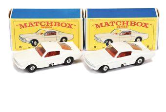 Matchbox Regular Wheels 2 x 8e Ford Mustang