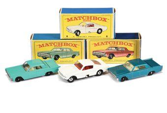 Matchbox Regular Wheels 8e Ford Mustang - Stannard Code 1