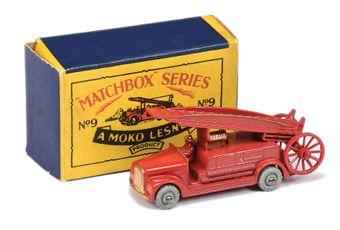 Matchbox Regular Wheels 9b Dennis Fire Escape