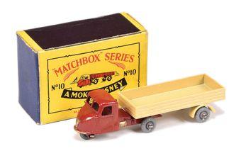 Matchbox Regular Wheels 10b Scammell Scarab Mechanical Horse