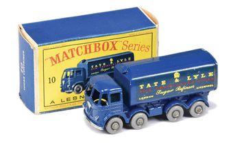 Matchbox Regular Wheels 10c Foden Sugar Container Truck