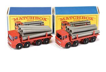 Matchbox Regular Wheels 2 x 10d Leyland Pipe Truck
