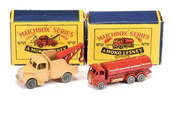Matchbox Regular Wheels 11a ERF Tanker - Stannard Code 7