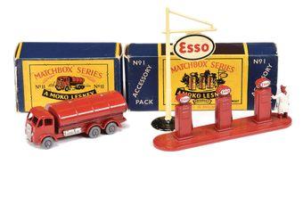 "Matchbox Regular Wheels 11b ERF Tanker ""Esso"""