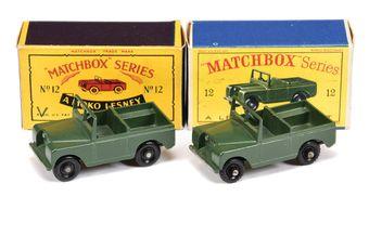 Matchbox Regular Wheels 2 x 12b Land Rover