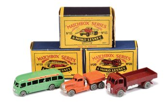 Matchbox Regular Wheels 15a Diamond T Prime Mover