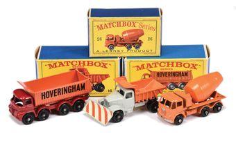 Matchbox Regular Wheels group of Commercial Vehicles