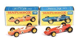 Matchbox Regular Wheels 19d Lotus Formula 1 Racing Car