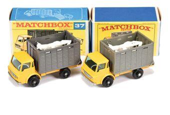 Matchbox Regular Wheels 2 x 37c Dodge Cattle Truck