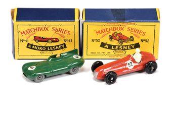 Matchbox Regular Wheels pair of Racing Cars