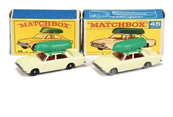 Matchbox Regular Wheels 2 x 45b Ford Corsair