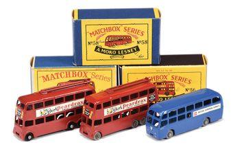 Matchbox Regular Wheels 2 x 56a London Trolleybus