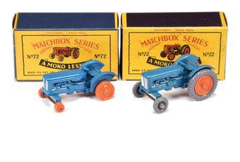Matchbox Regular Wheels 2 x 72a Fordson Major Tractor