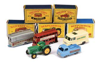 Matchbox Regular Wheels (1) 50b John Deere Lanz Tractor