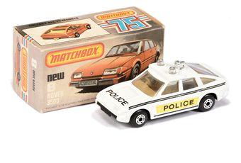 Matchbox Superfast 8d Rover 3500 Police Car