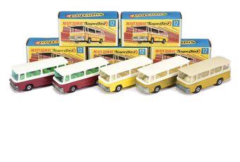 Matchbox Superfast 5 x 12b Setra Coach