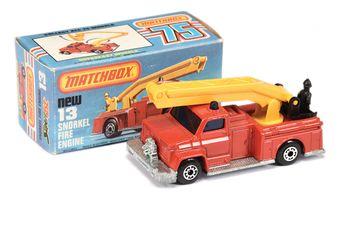 Matchbox Superfast 13c Snorkel Fire Engine