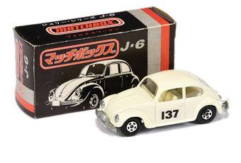 Matchbox Superfast 15a Volkswagen Beetle Rally Car