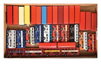 Matchbox Superfast large group of Buses