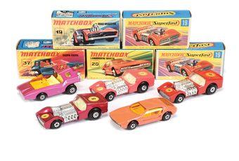 Matchbox Superfast 3 x 19b Road Dragster