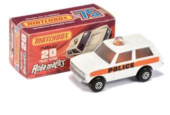 Matchbox Superfast 20b Range Rover Police Patrol