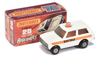 Matchbox Superfast 20a Range Rover Police Patrol