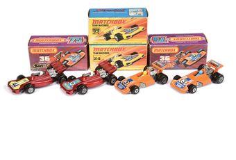 Matchbox Superfast 2 x 24b Team Matchbox Racing Car