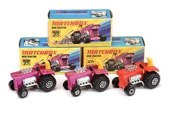 Matchbox Superfast 3 x 25b Mod Tractor