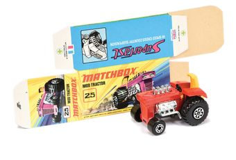 Matchbox Superfast 25b Mod Tractor Twin Pack Issue