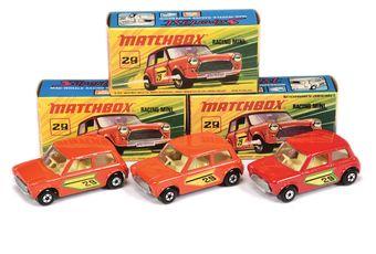 Matchbox Superfast 3 x 29b Racing Mini