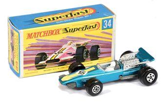 Matchbox Superfast 34a Formula 1 Racing Car