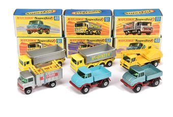Matchbox Superfast group of Commercial vehicles