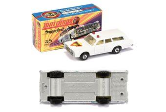 Matchbox Superfast 55b Mercury Commuter Police Car